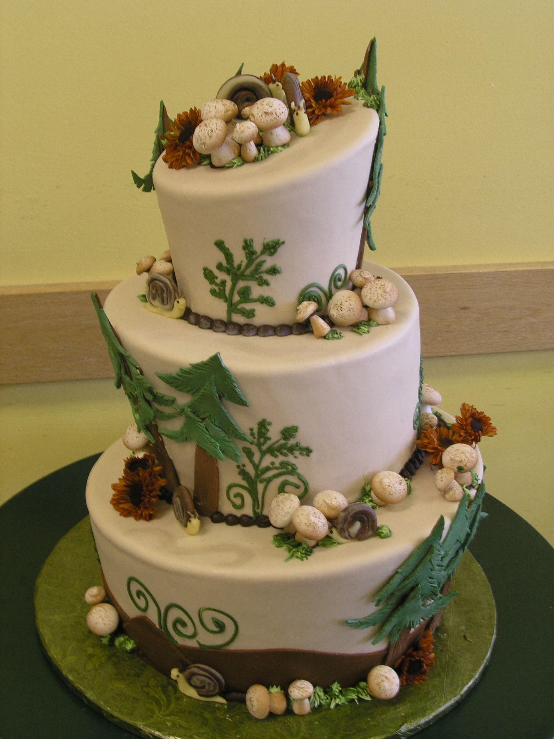 Nature forest cake | Extravagant Cakes | Pinterest