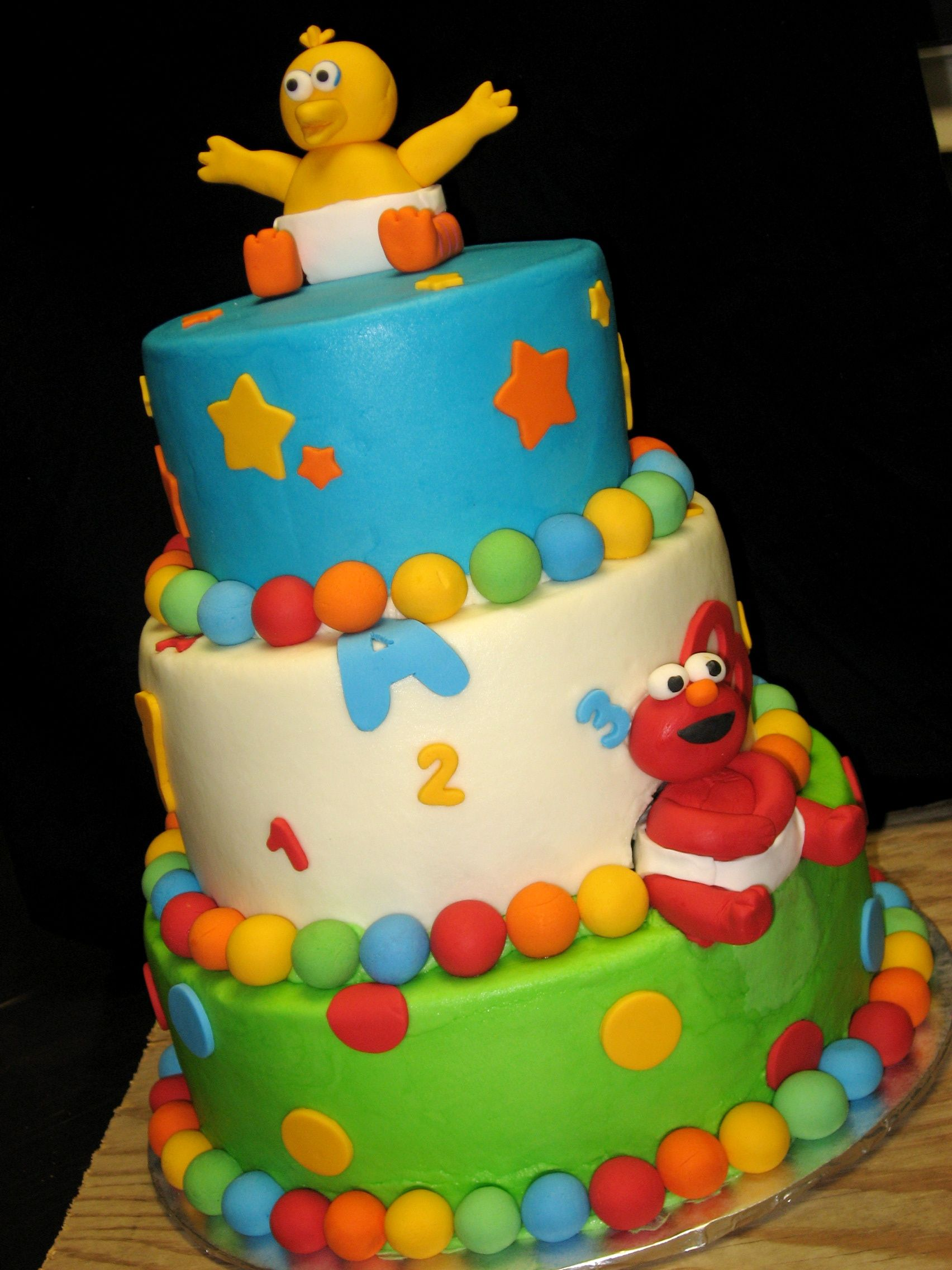 baby sesame street cake baby shower ideas pinterest