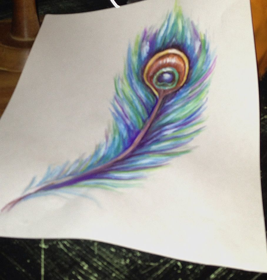 Peacock feather painting art pinterest for Painting feathers on canvas
