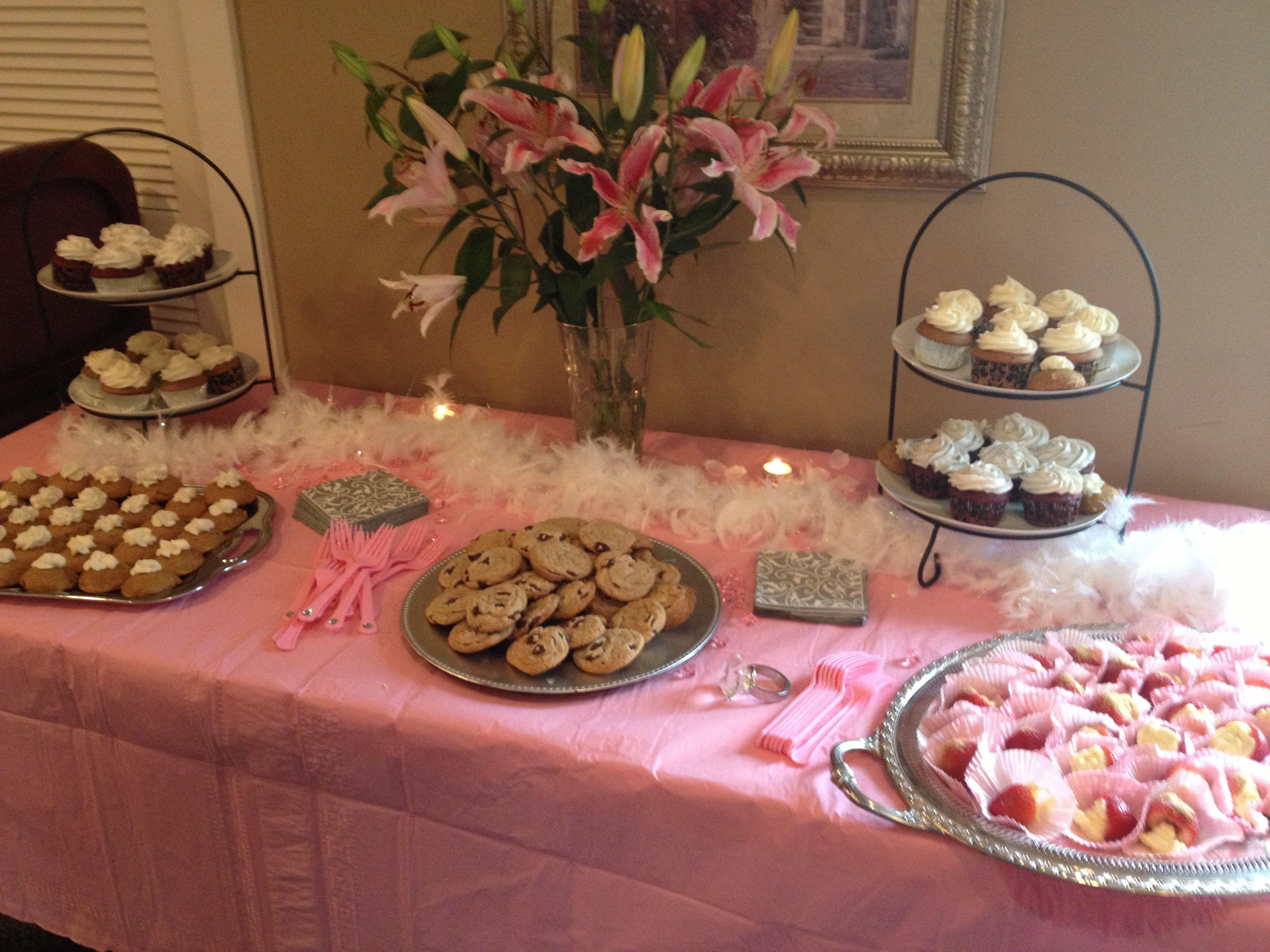 Dessert Table For Bridal Shower Party Ideas Pinterest