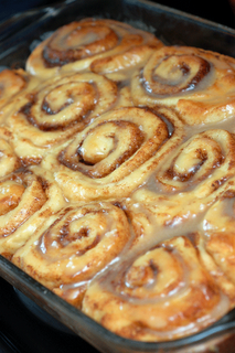 Sinful Cinnamon Rolls...make at night and bake in the morning.