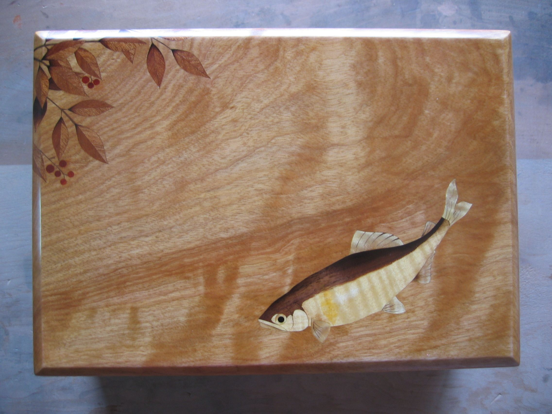 Marquetry pictures hudson river inlay Cached