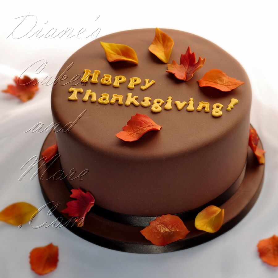 Cake Design For Thanksgiving : Thanksgiving Cake Cakes Pinterest
