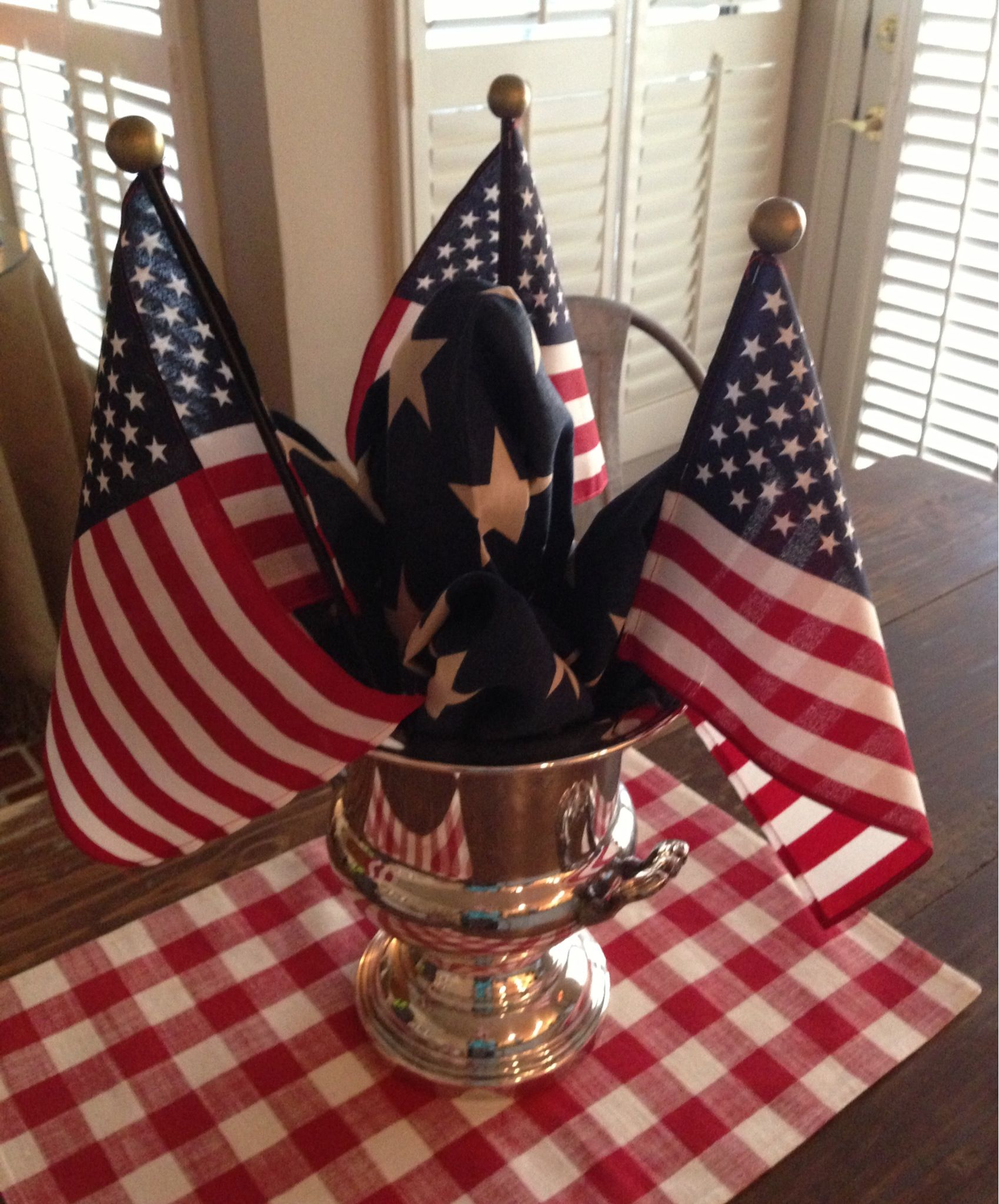 4th of july table decoration ideas