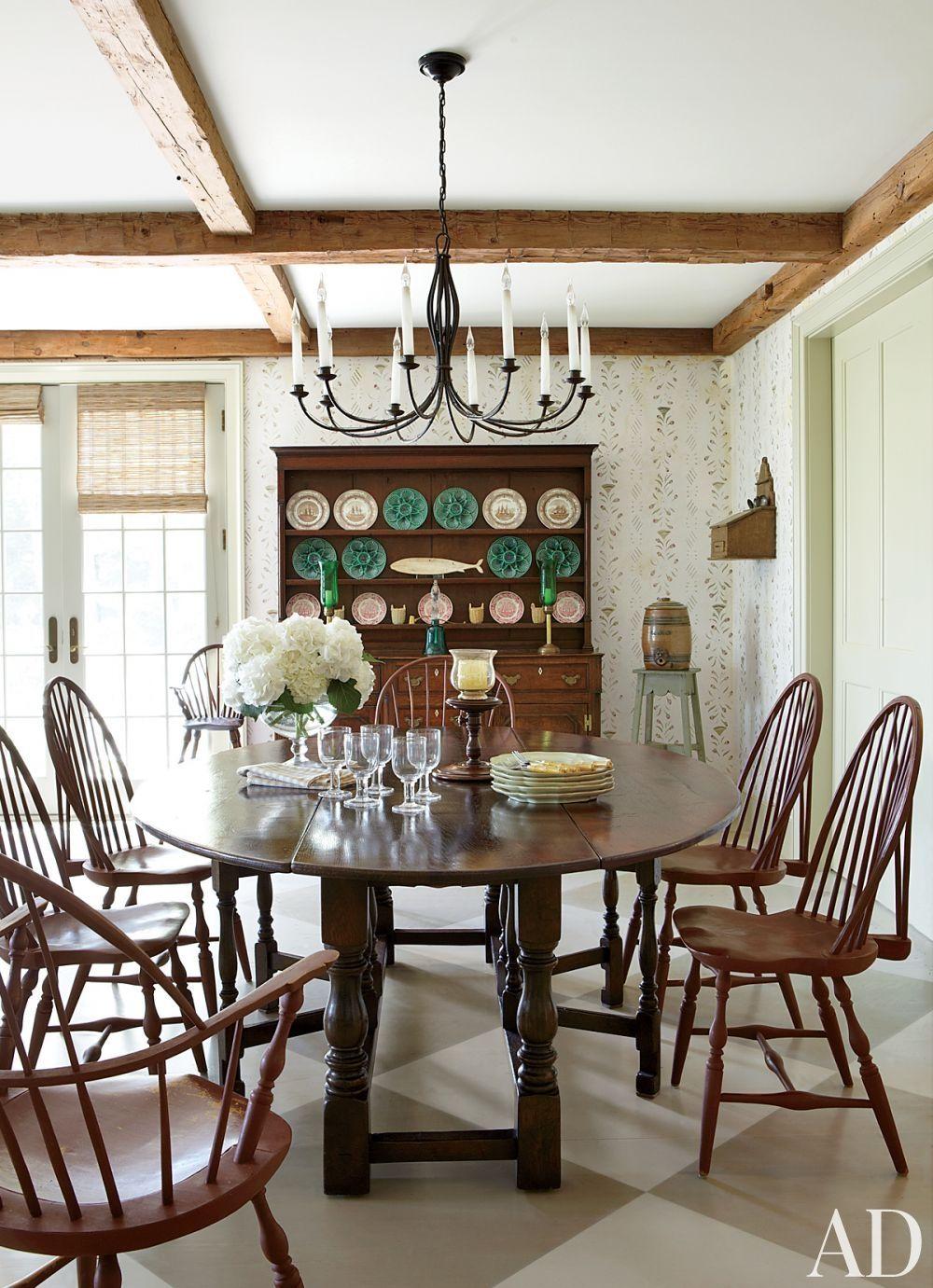 Colonial dining | I Love Interior Design! | Pinterest