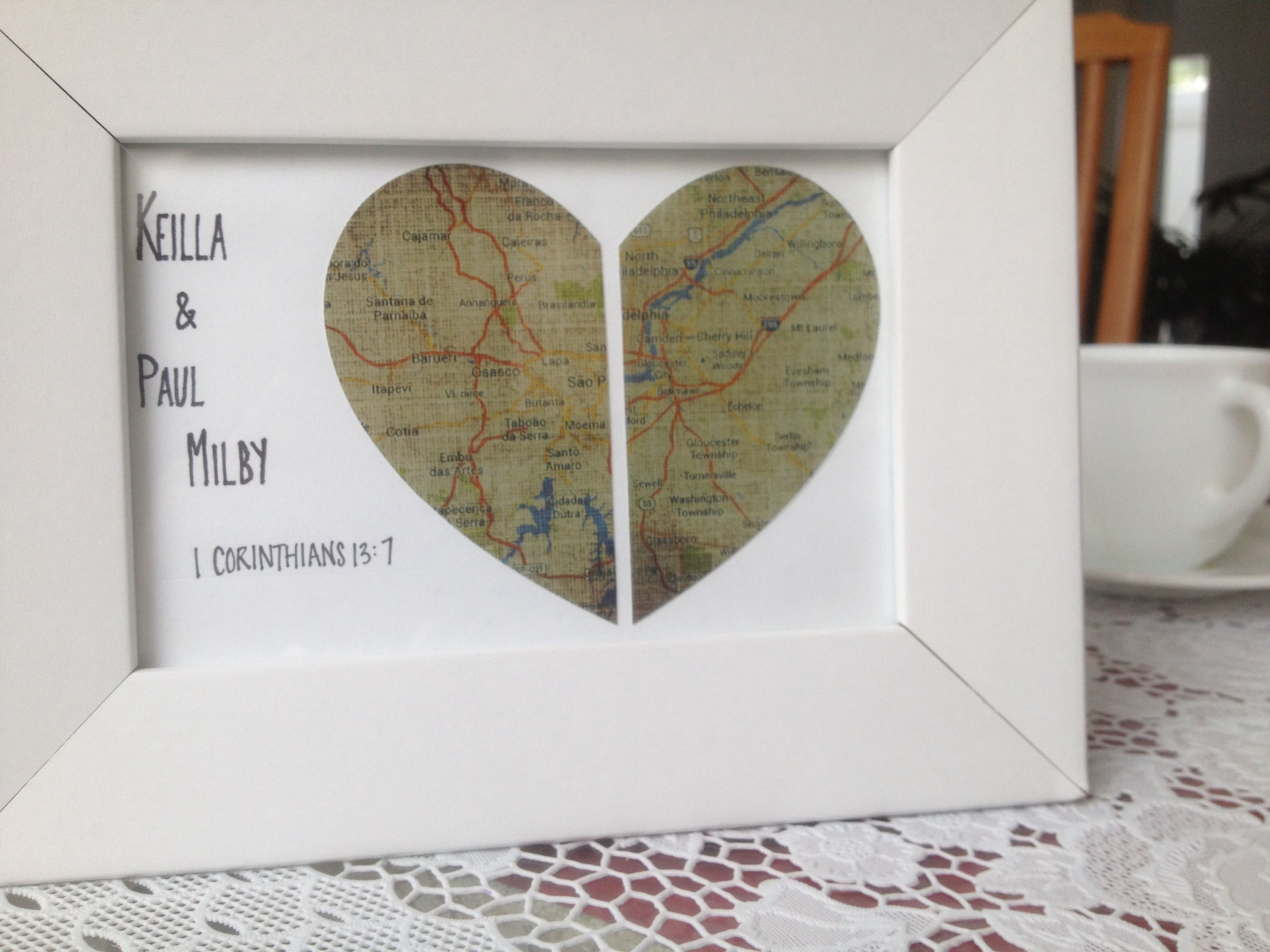 Homemade Wedding Gift