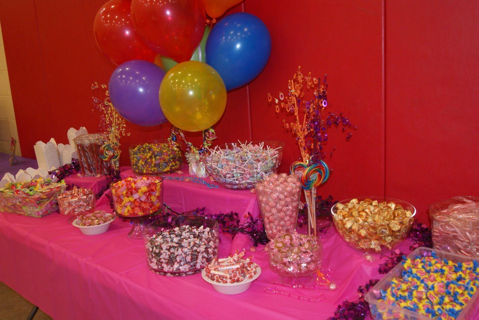 Candyland decorations party ideas pinterest
