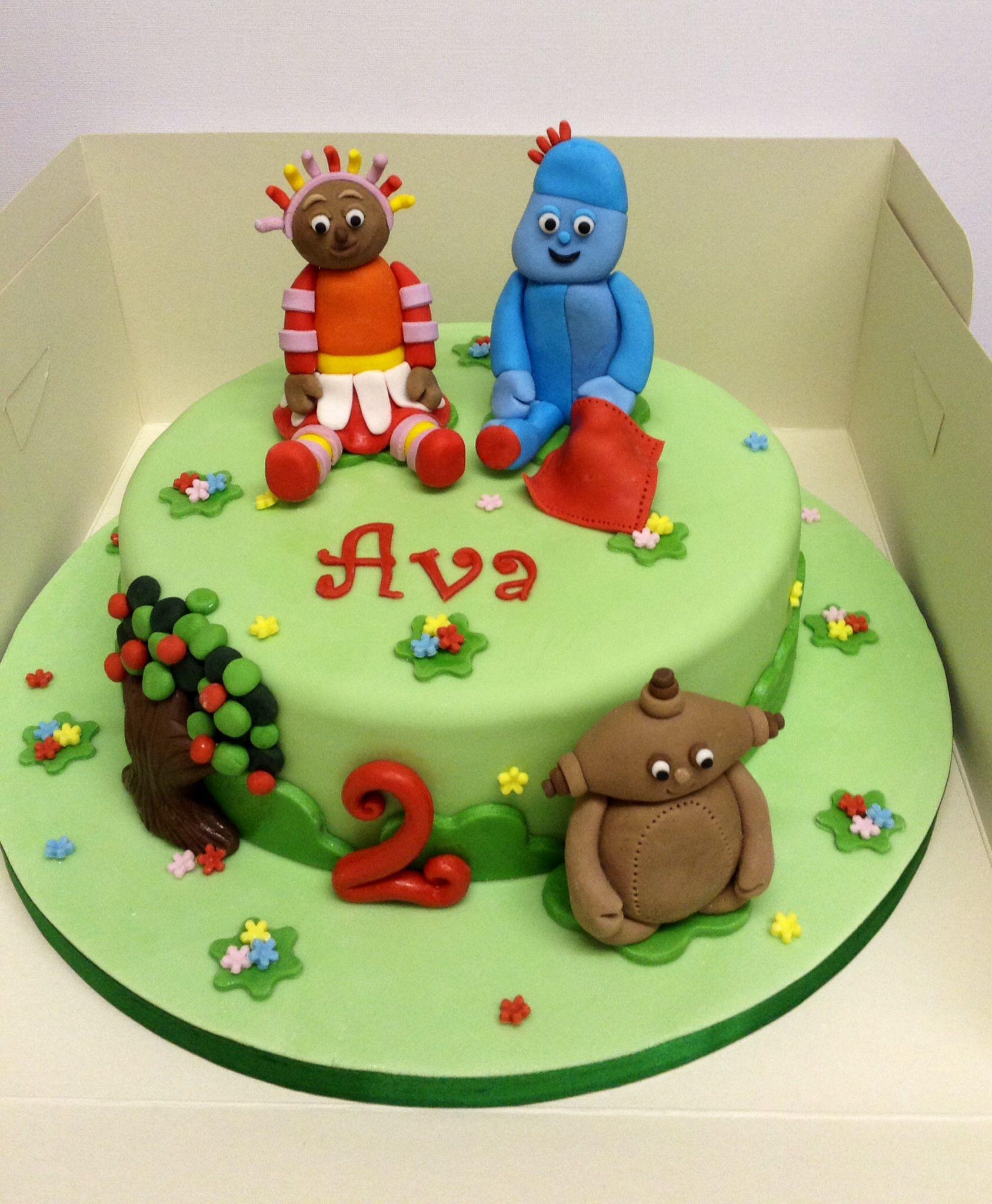 in the night garden birthday cake cakes pinterest On in the night garden birthday cake designs