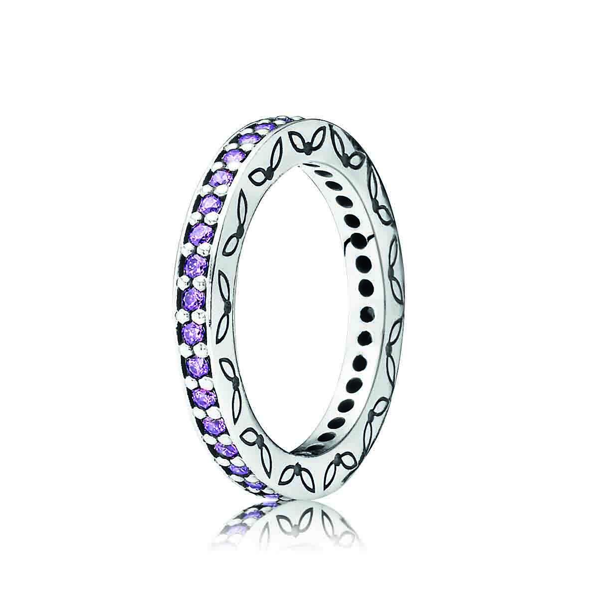 pandora ring in amethyst jewelry