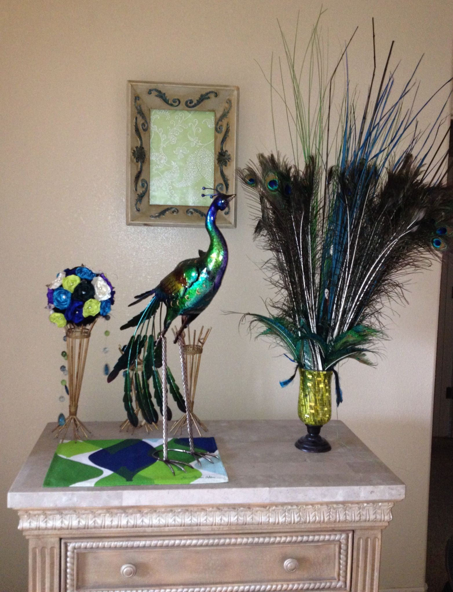 Peacock Decor Peacock Theme Living Room Pinterest
