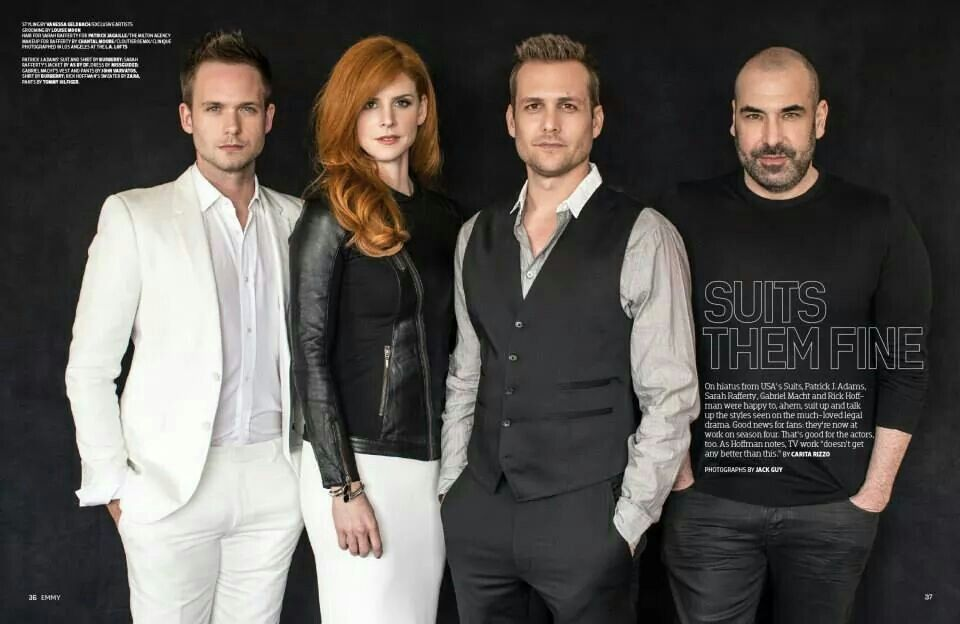 the cast suits tv show pinterest