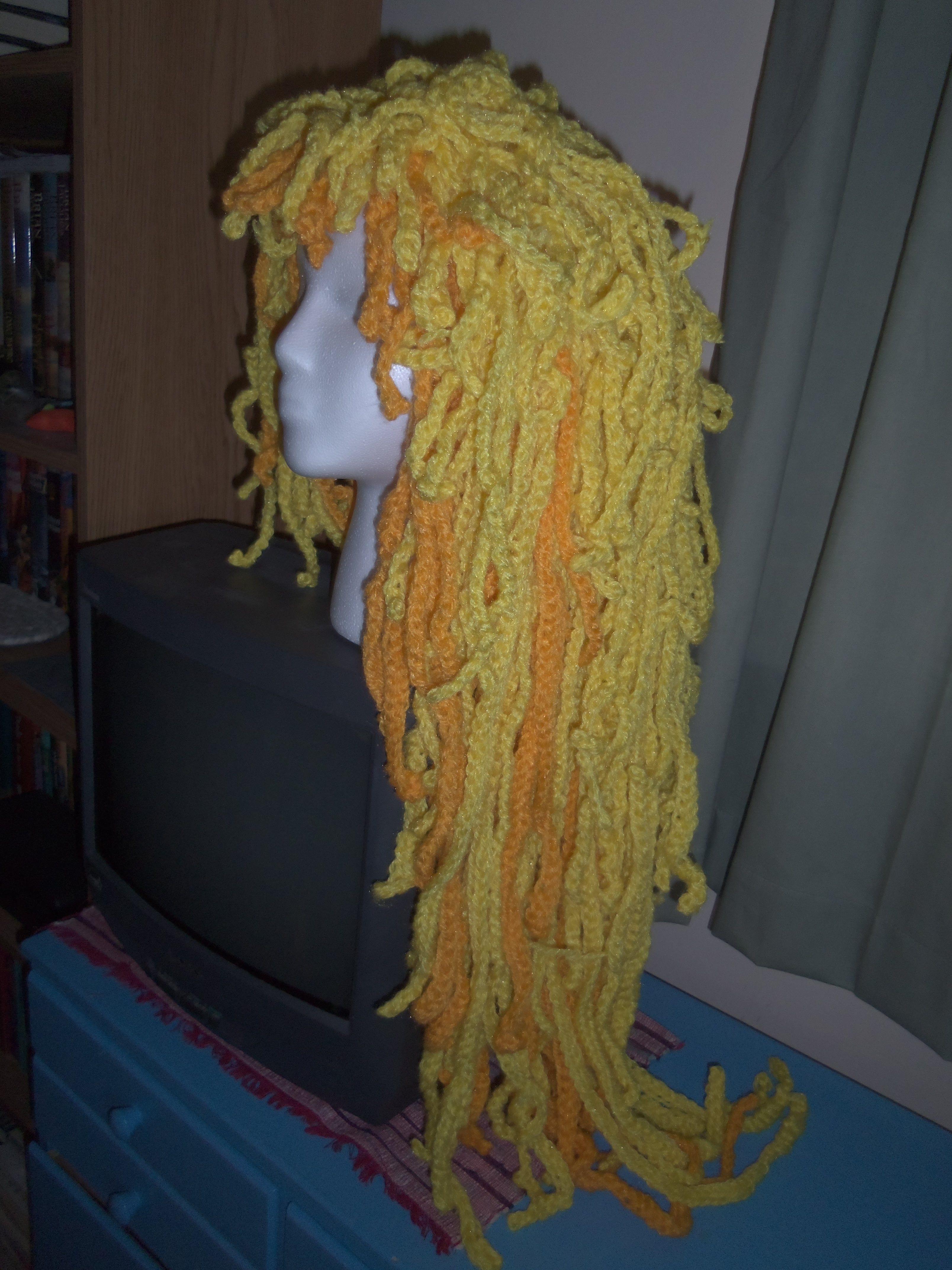 crochet wig crochet passion Pinterest