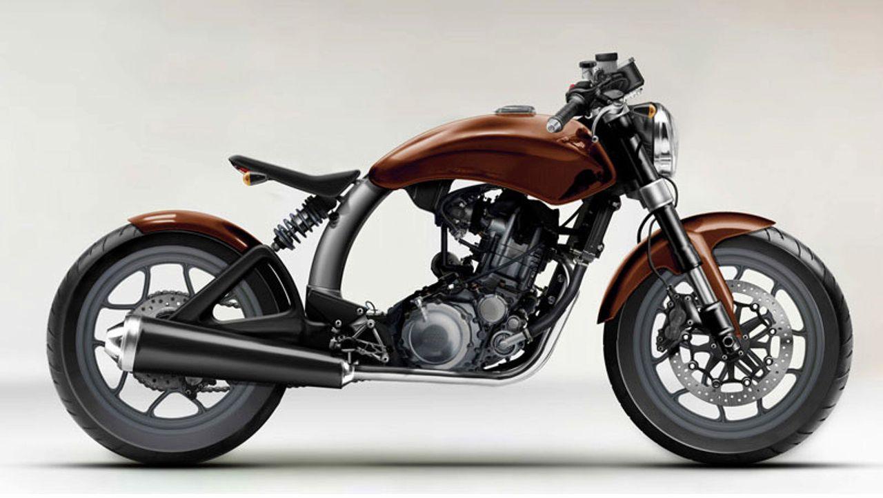 Honda Cbr125 Motorbike Development Project John Chen Cafe Racer
