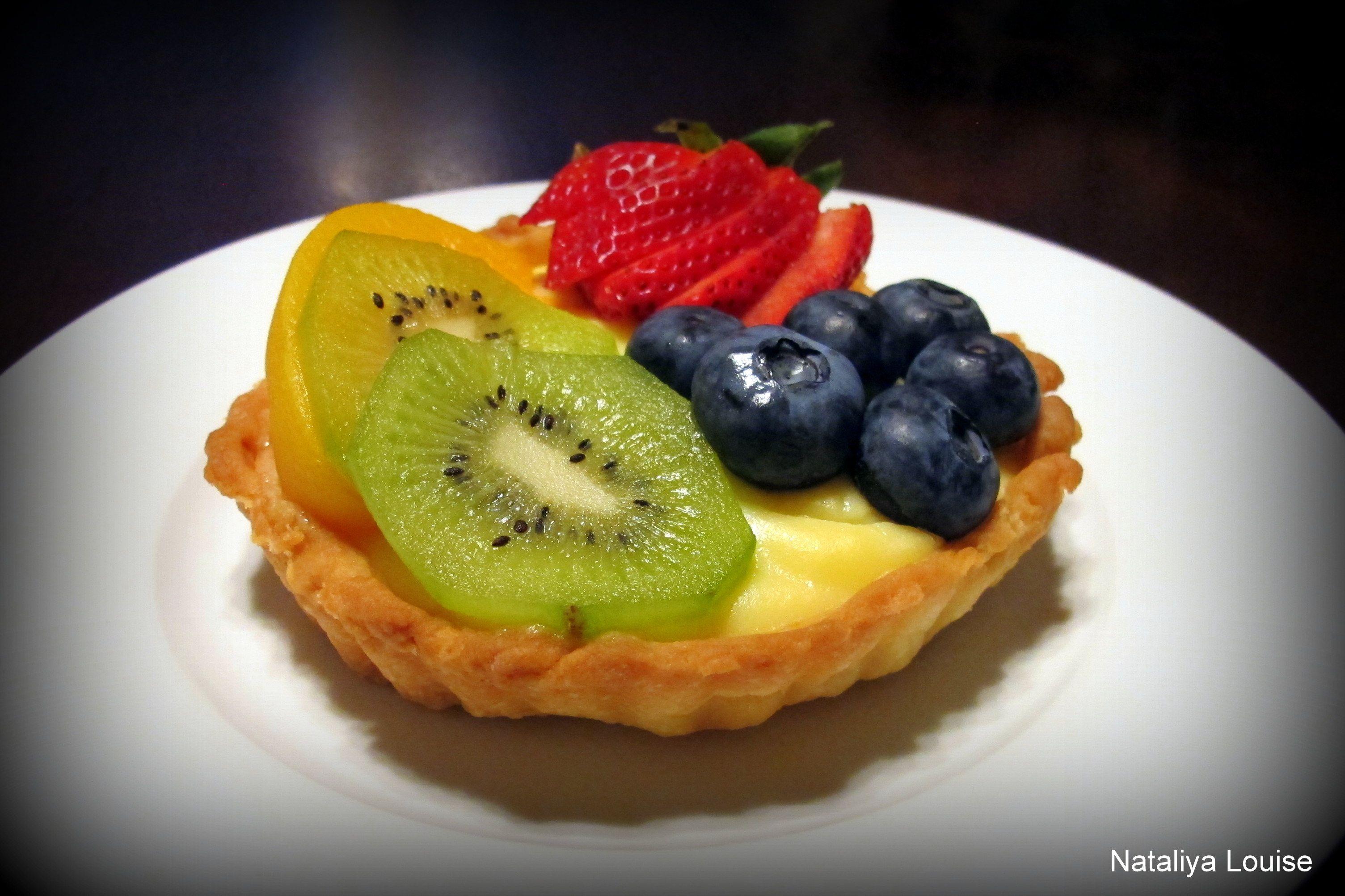 Fruit tart. | Russian Sweets, Pastries & Desserts | Pinterest