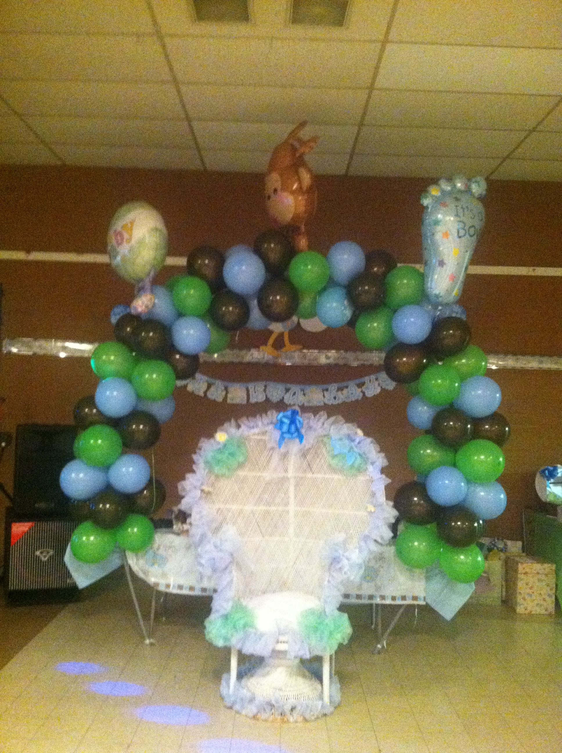 baby shower set up baby shower ideas pinterest