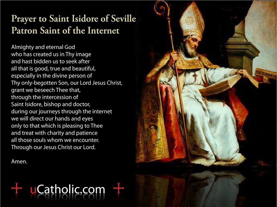 Patron saint of online dating