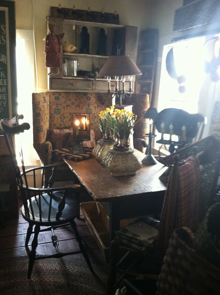 on pinterest primitive dining rooms primitives and windsor chairs