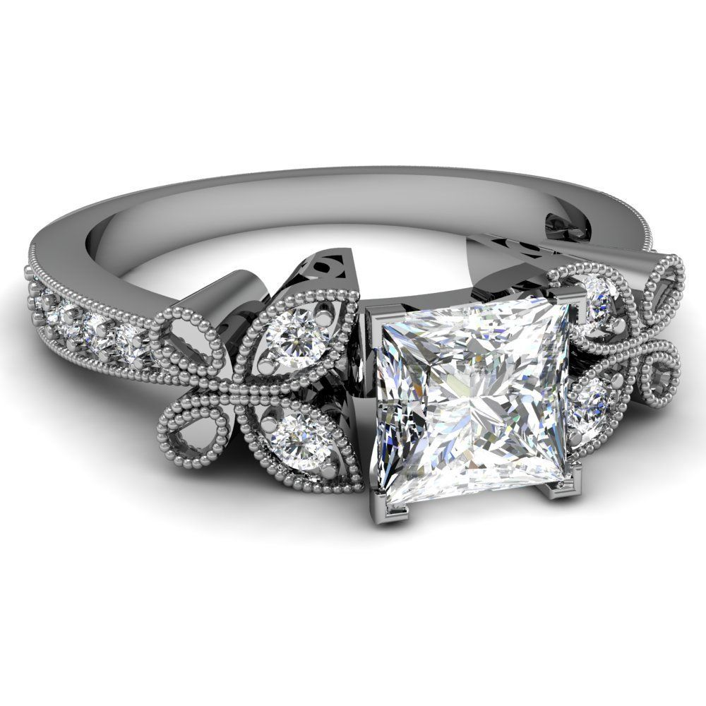 tacori princess cut engagement ring my style