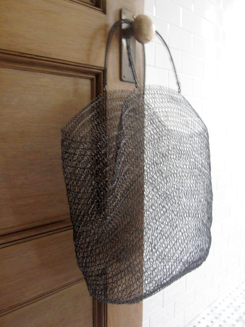 Wire bag / Anthropologie / Pilo Blog Carteras y bolsos Pinterest