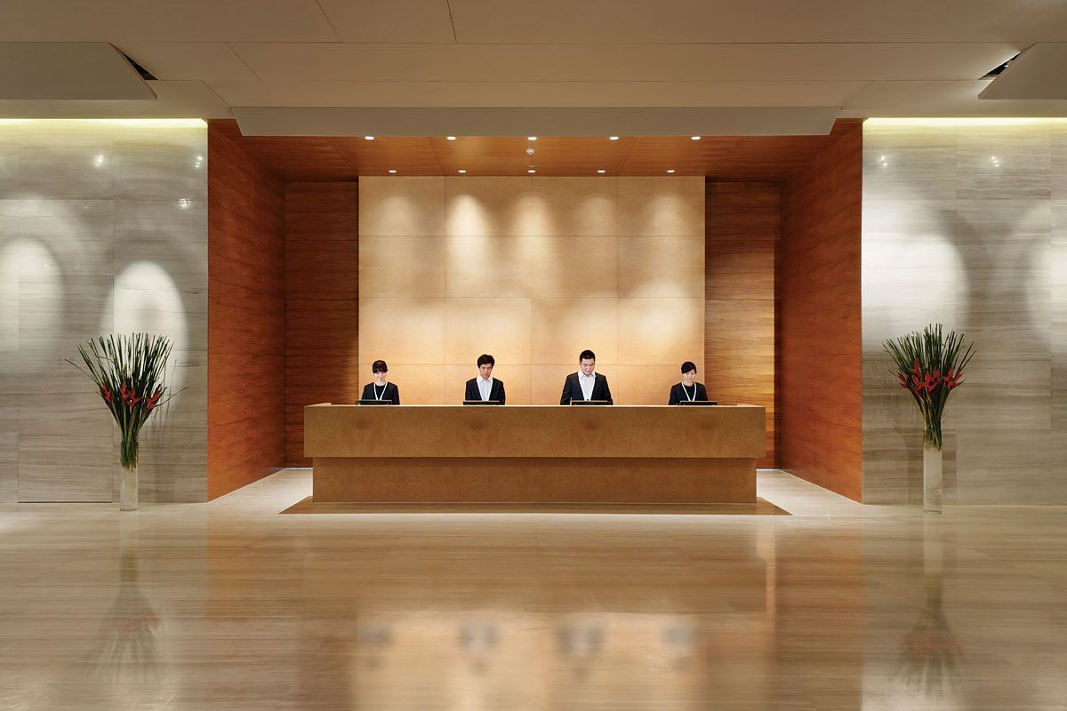 Hotel lobby reception 02 recepation pinterest for Design hotel 6f