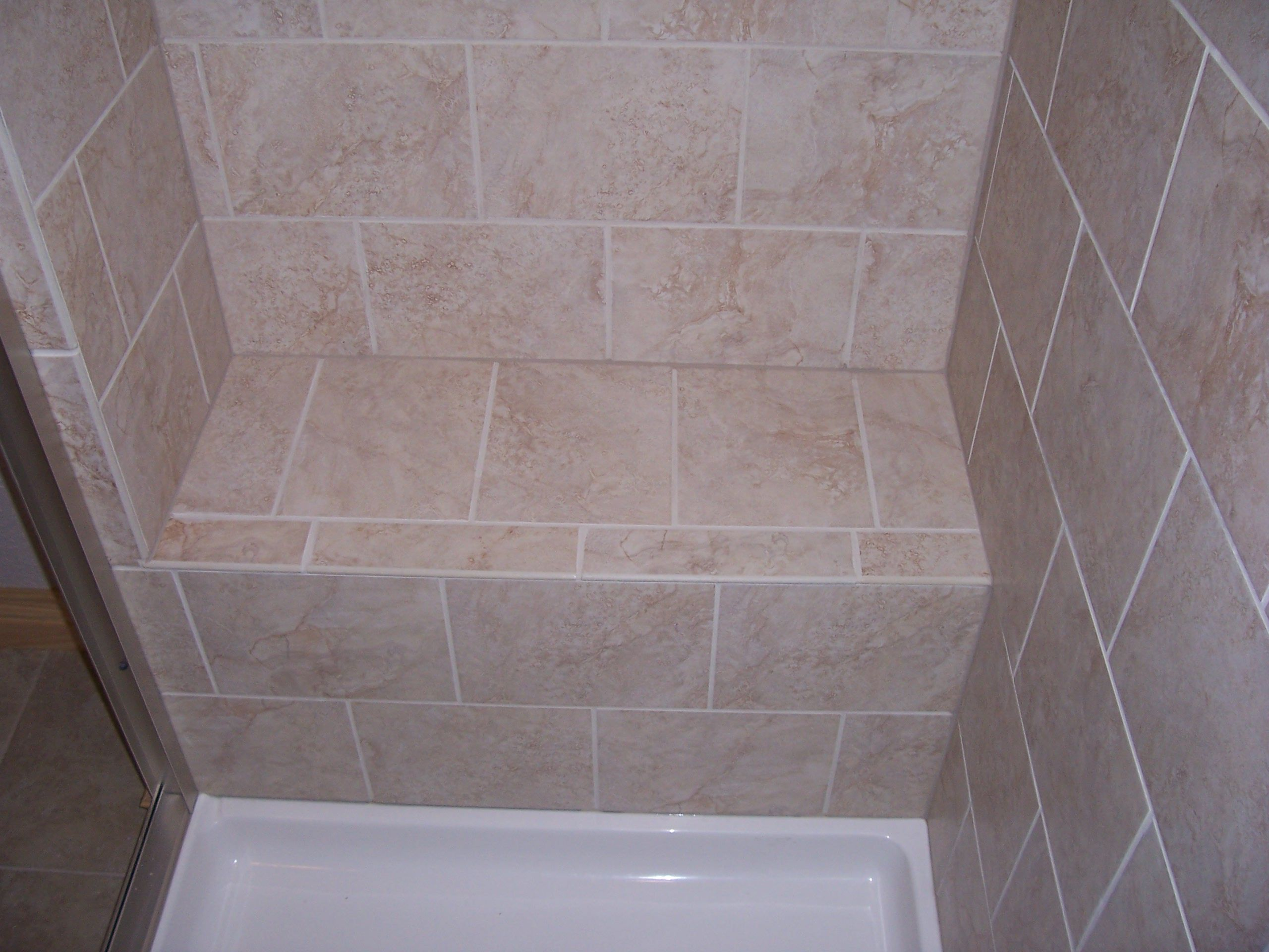 Built in seat in shower general home improvement ideas for Built in shower ideas
