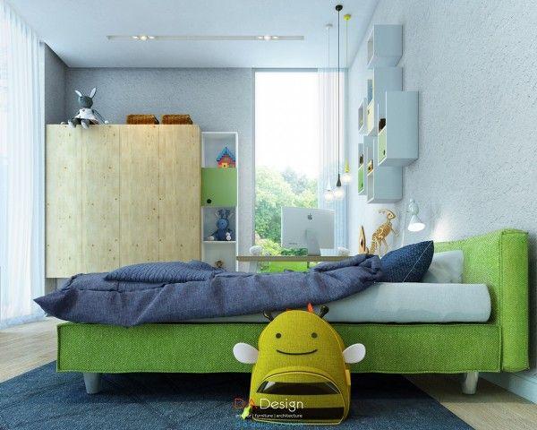 Không cần những nội thất cầu kì, căn phòng trông vẫn đáng yêu và dễ thương