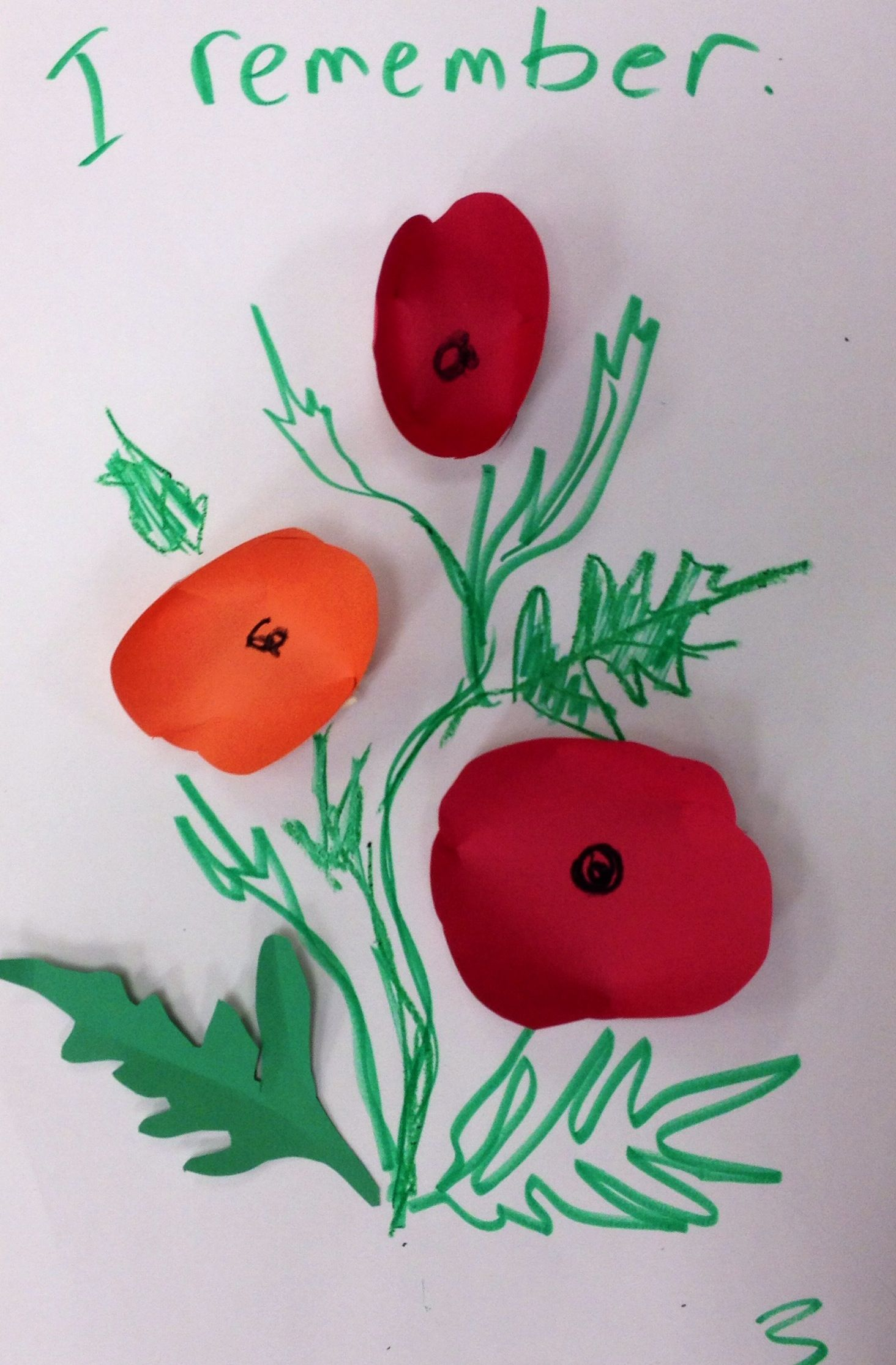 Remembrance Day Poppies Craft