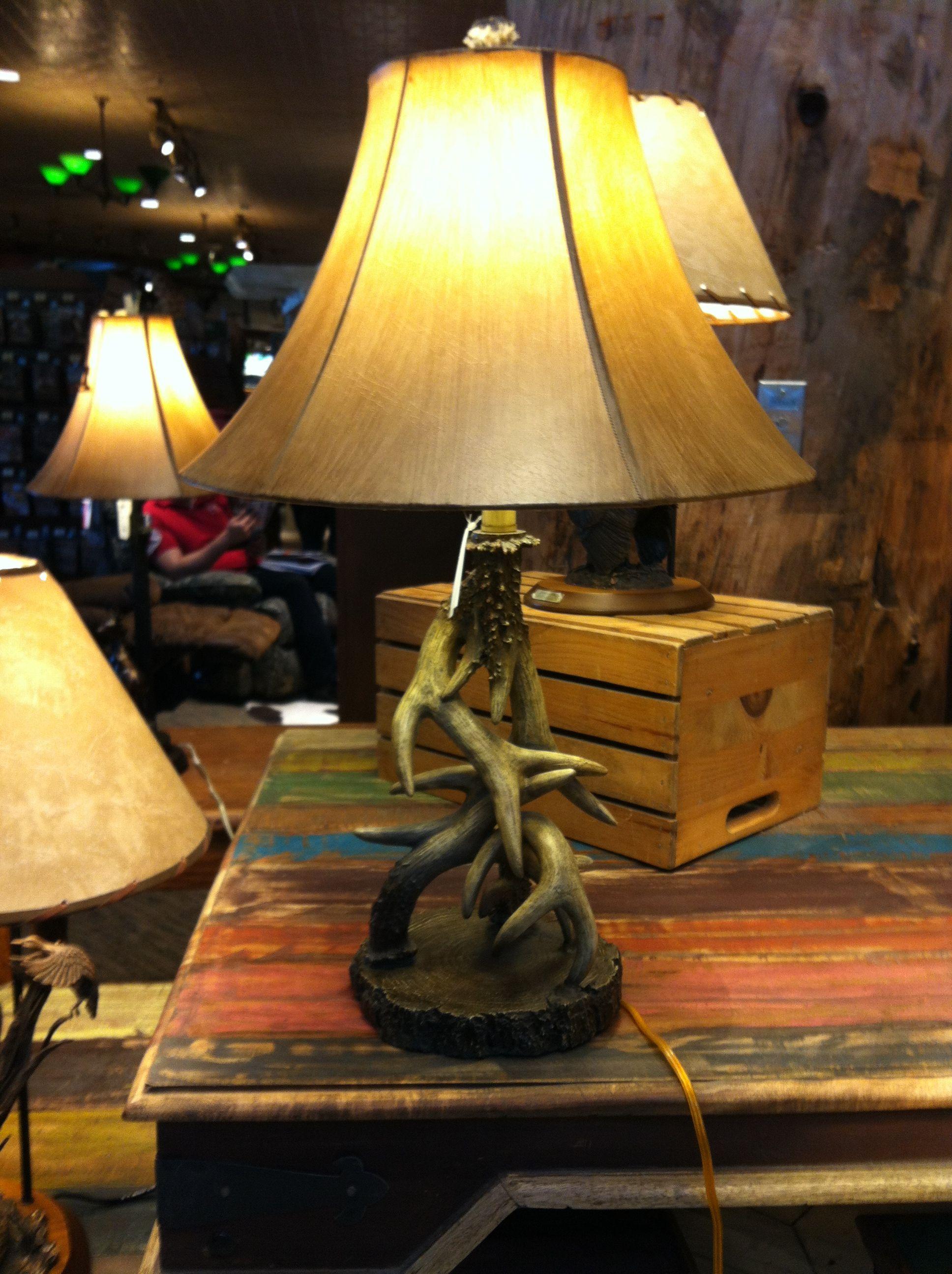 bass pro shop antler lamp for my boys pinterest