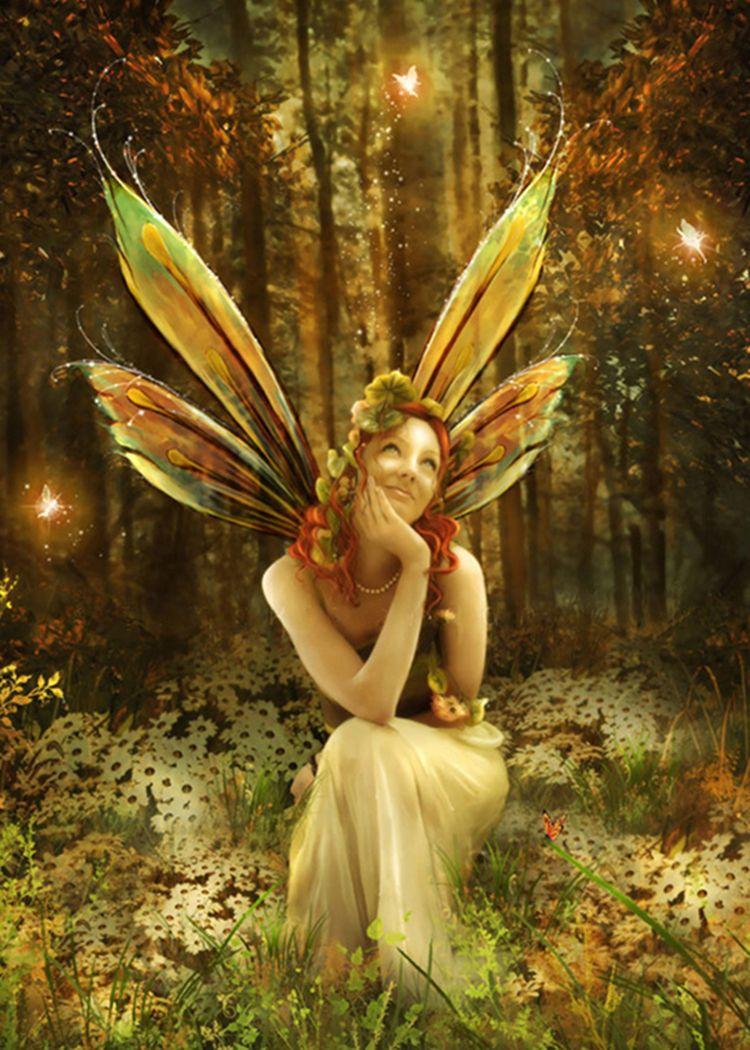 Beautiful Fairy   Art I Love   Pinterest