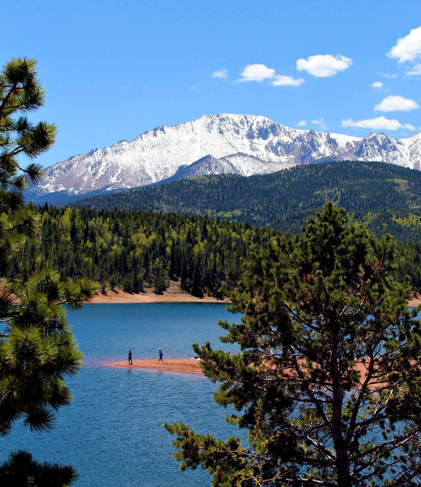 Colorado Springs And: Pikes Peak In Colorado Springs!