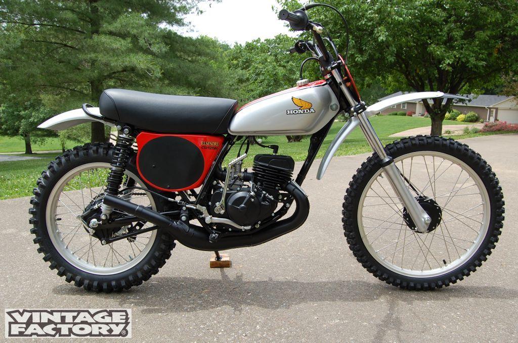 1975- Honda CR125R Elsinore | VINTAGE DIRT | Pinterest