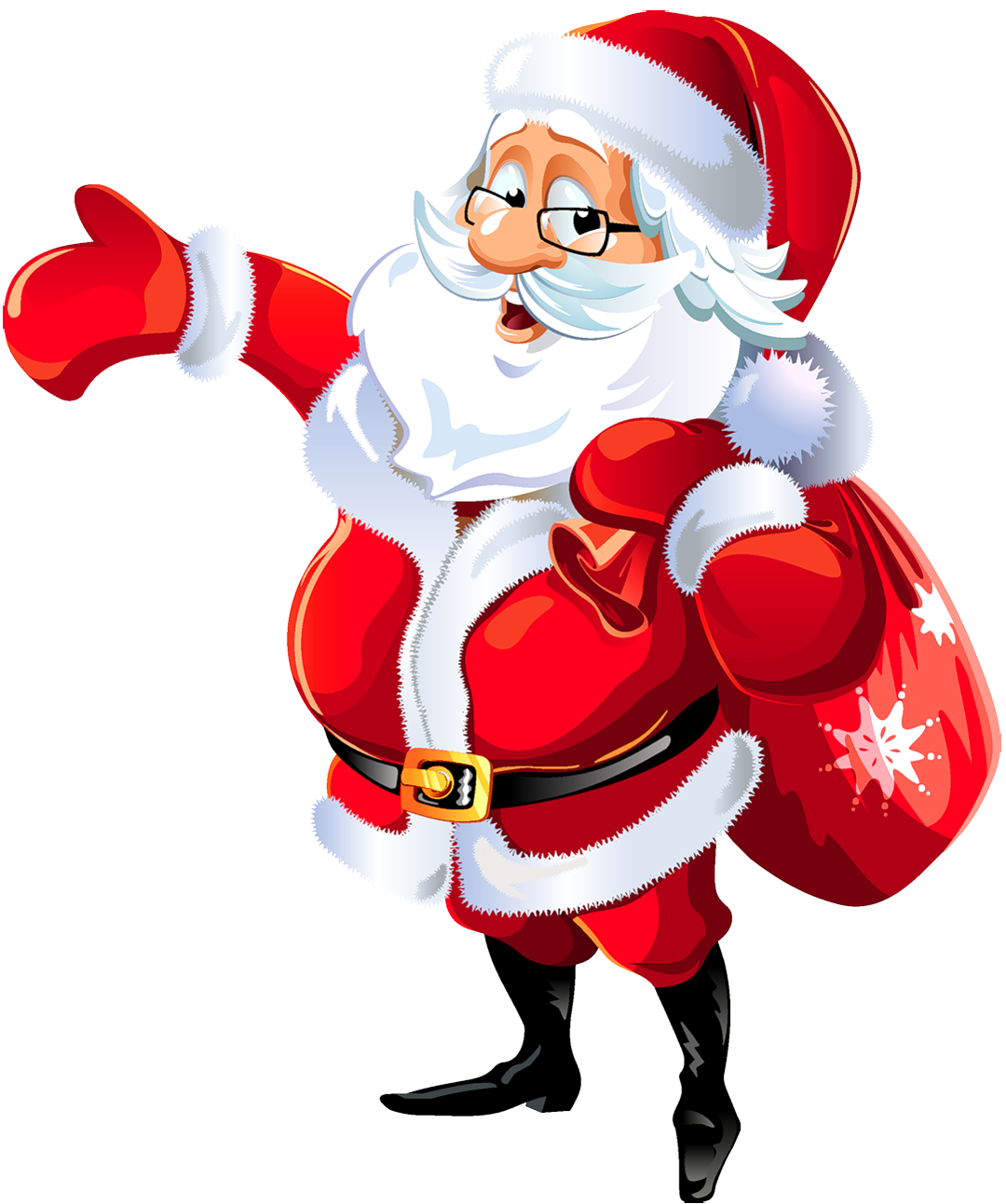 Free Clip Art from Vintage Holiday Crafts Santa Claus