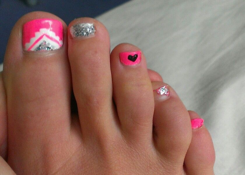... with flip flops and pink toenails pink toenails flickr photo sharing