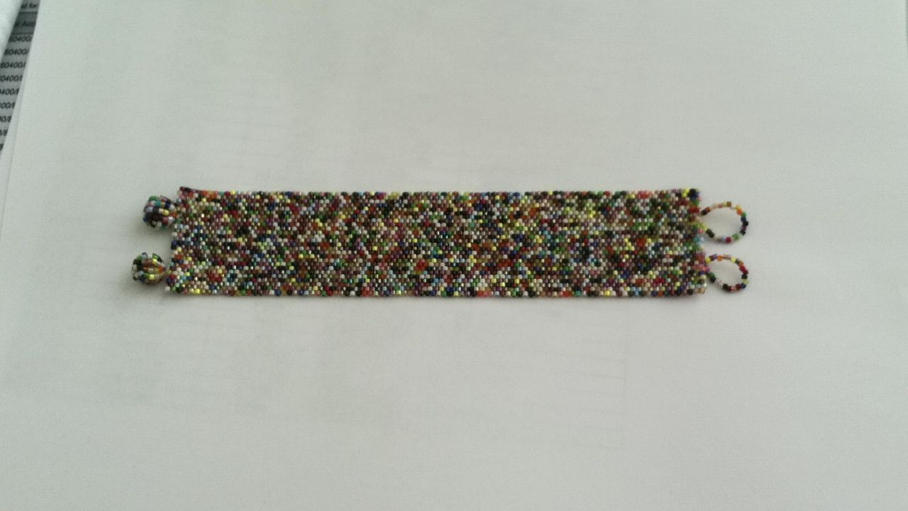 Delica seed beads bracelet - DIY | Bead Projects | Pinterest
