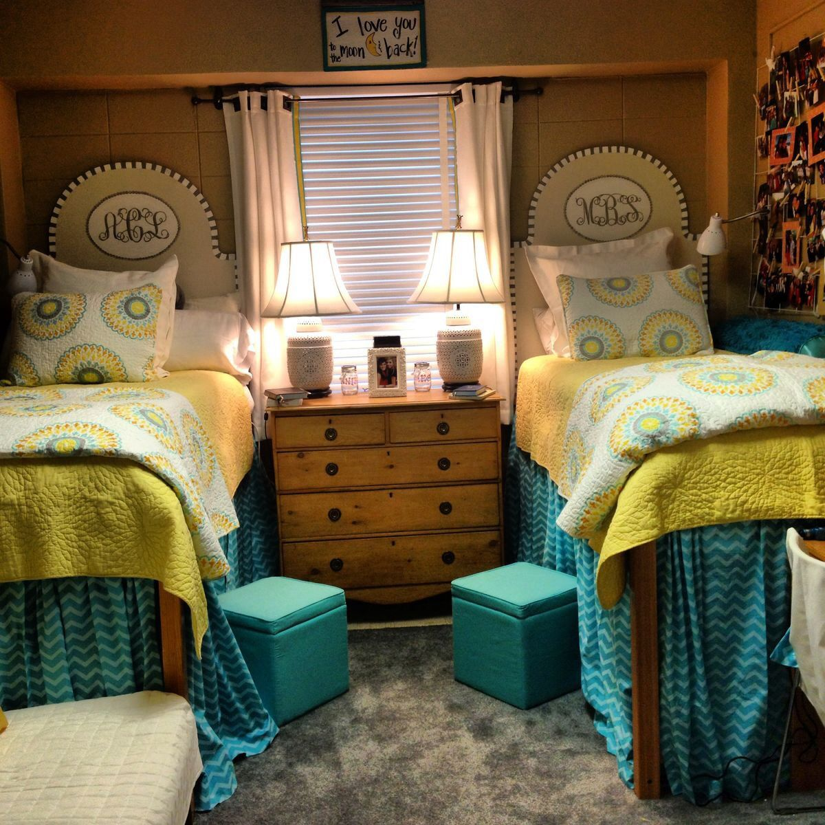 Decorating Ideas > U Of Alabama Tutwiler Dorm Room  Dorm  Pinterest  Dorm  ~ 003811_Green Dorm Room Ideas