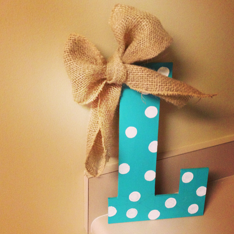Painted Wooden Letter Crafts Diy 39 S Pinterest