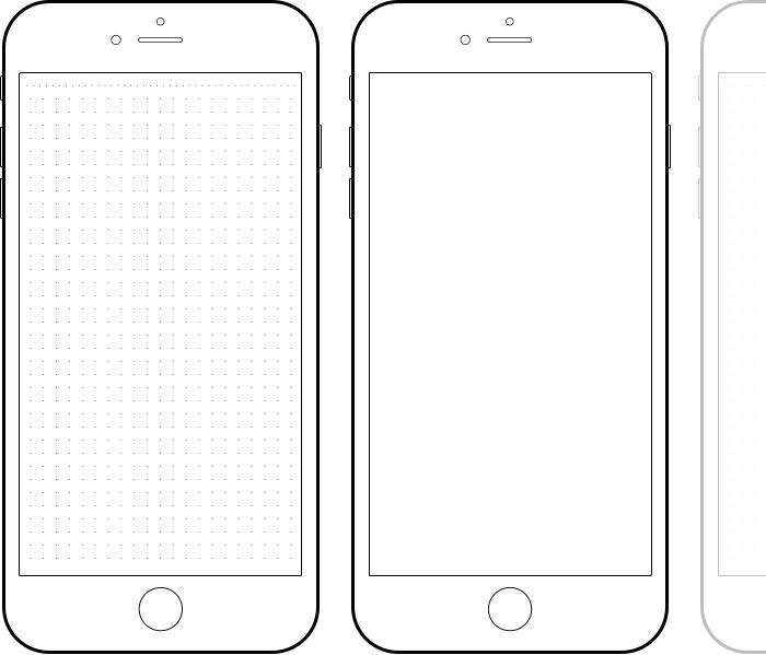 Как сделать шаблон на айфоне