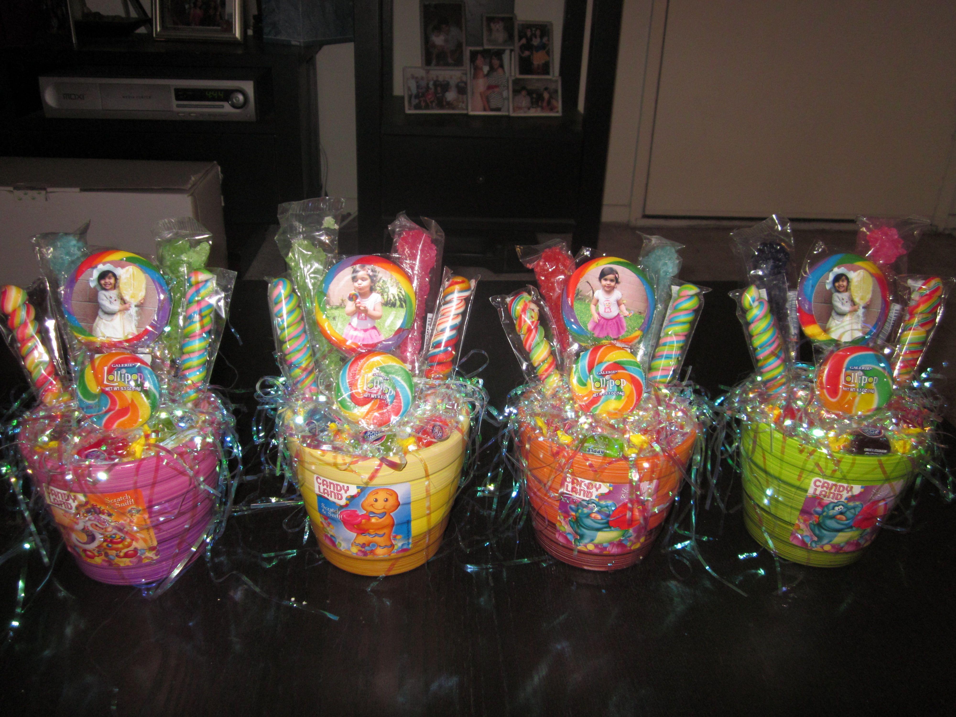 Candyland centerpieces elicia pinterest