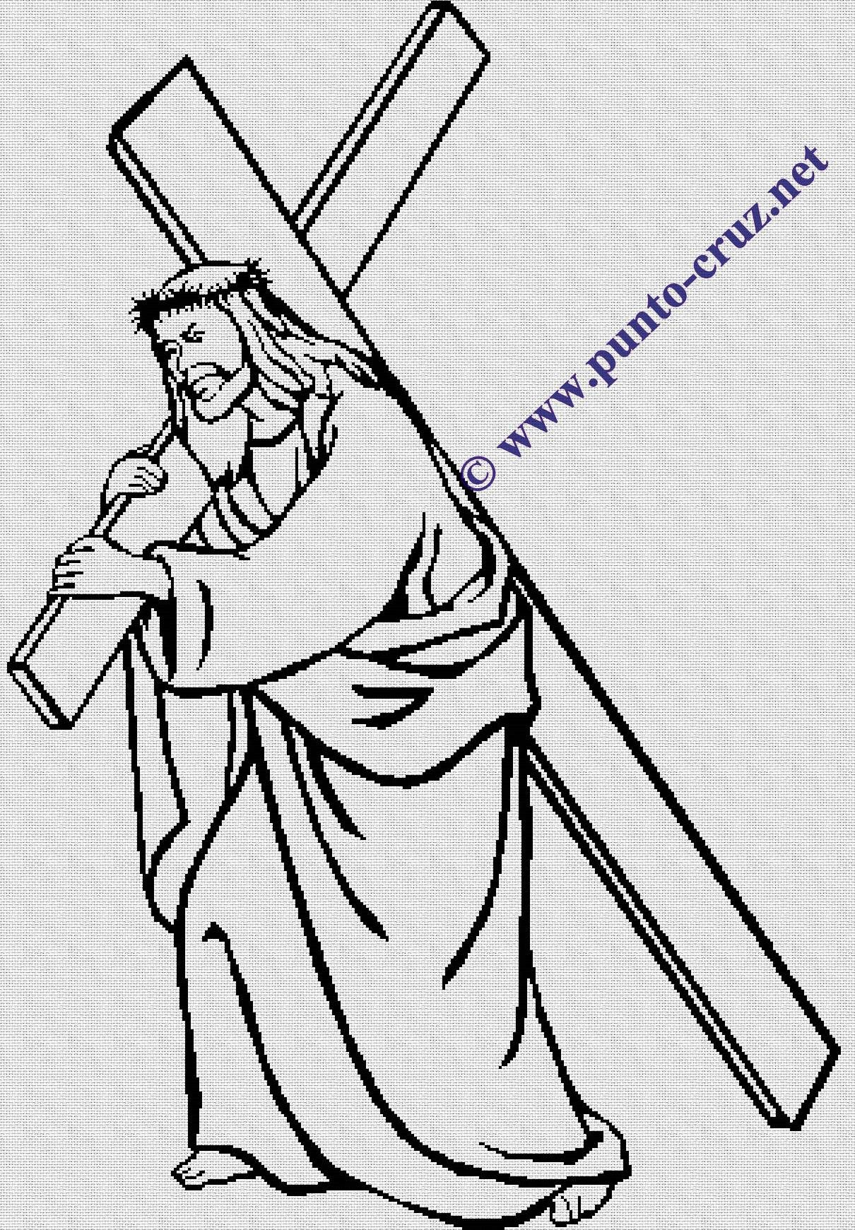 Resurrection Coloring pictures of jesus risen