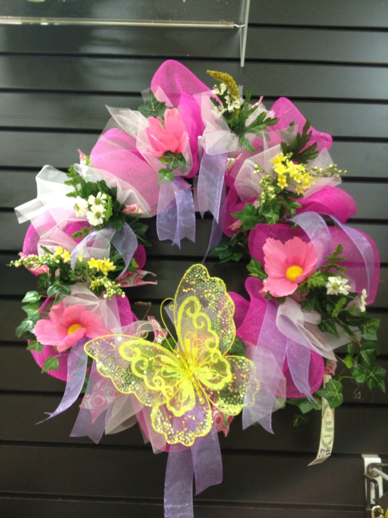 Spring Wreath Crafty Ideas Pinterest