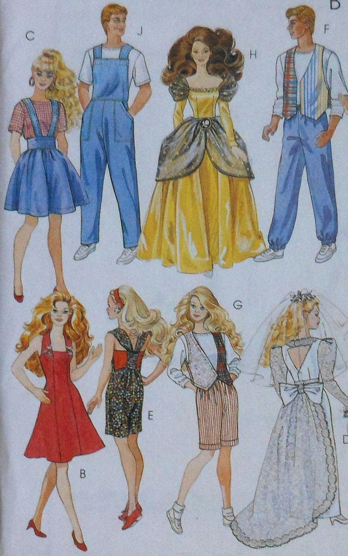 Fashion doll sewing patterns free 33