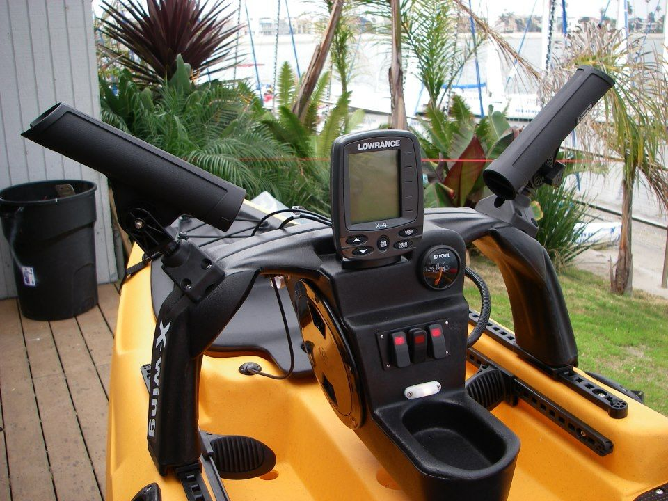 Cool diy kayak console a jke for Fishing kayaks for sale near me
