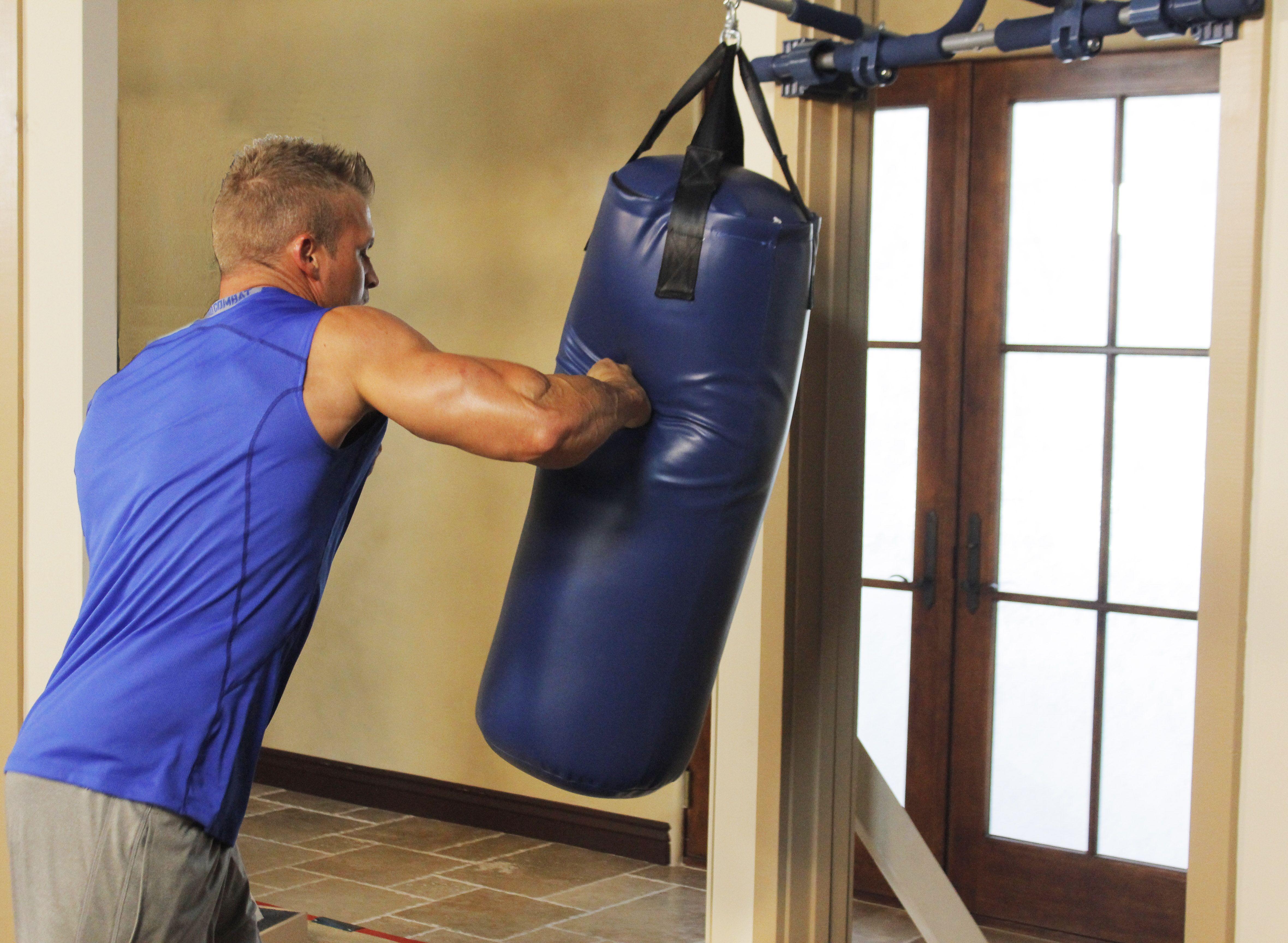 Совет 1: Как сделать боксёрскую грушу в домашних условиях 11