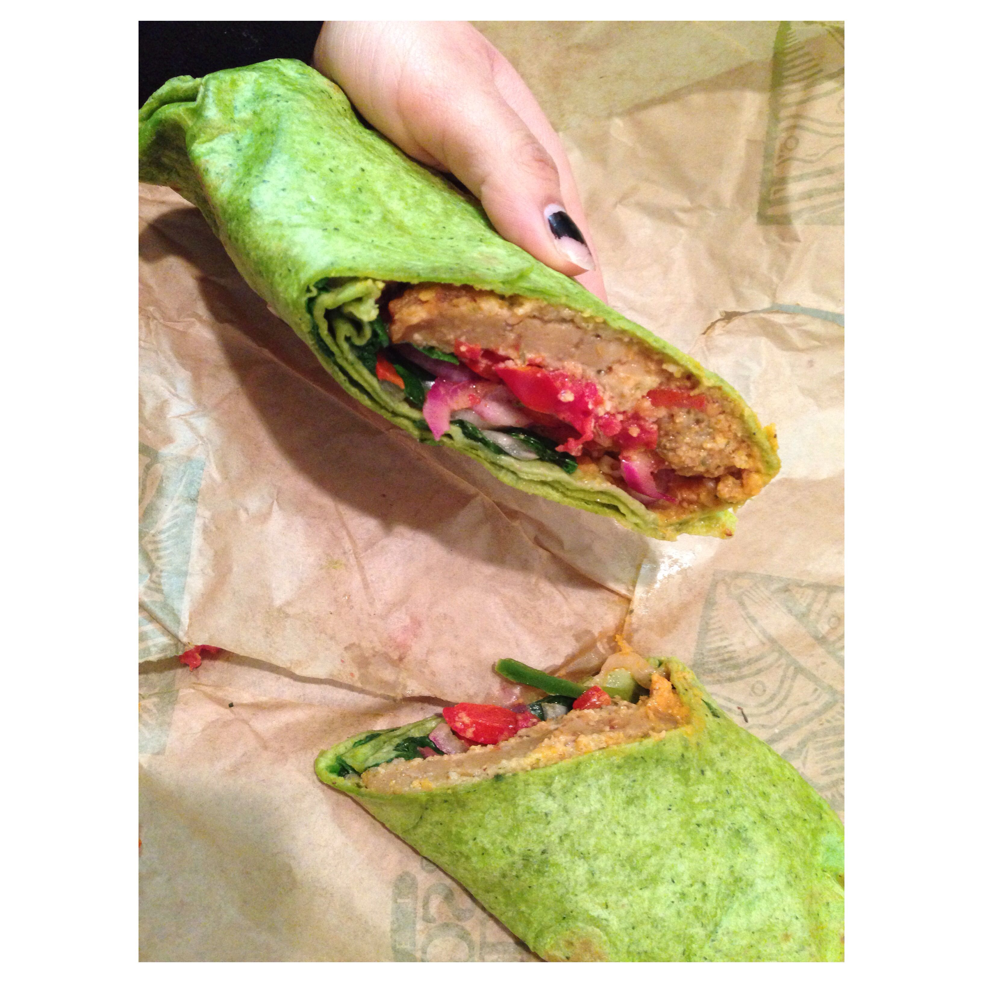 Spinach wrap from whole foods. Yummyyyy | yum. | Pinterest
