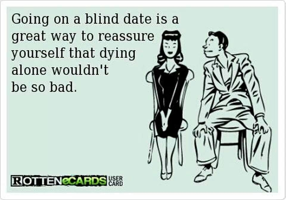 favorite blind date