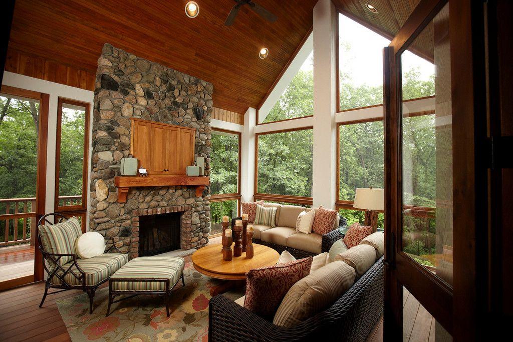 Fabulous Four Season Porch For The Home Pinterest