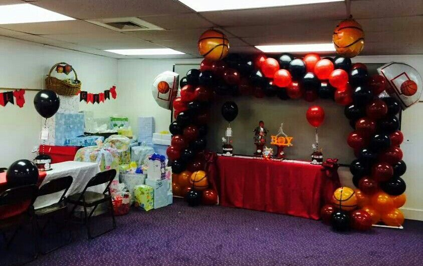 jordan theme decorations jordan theme baby shower pinterest