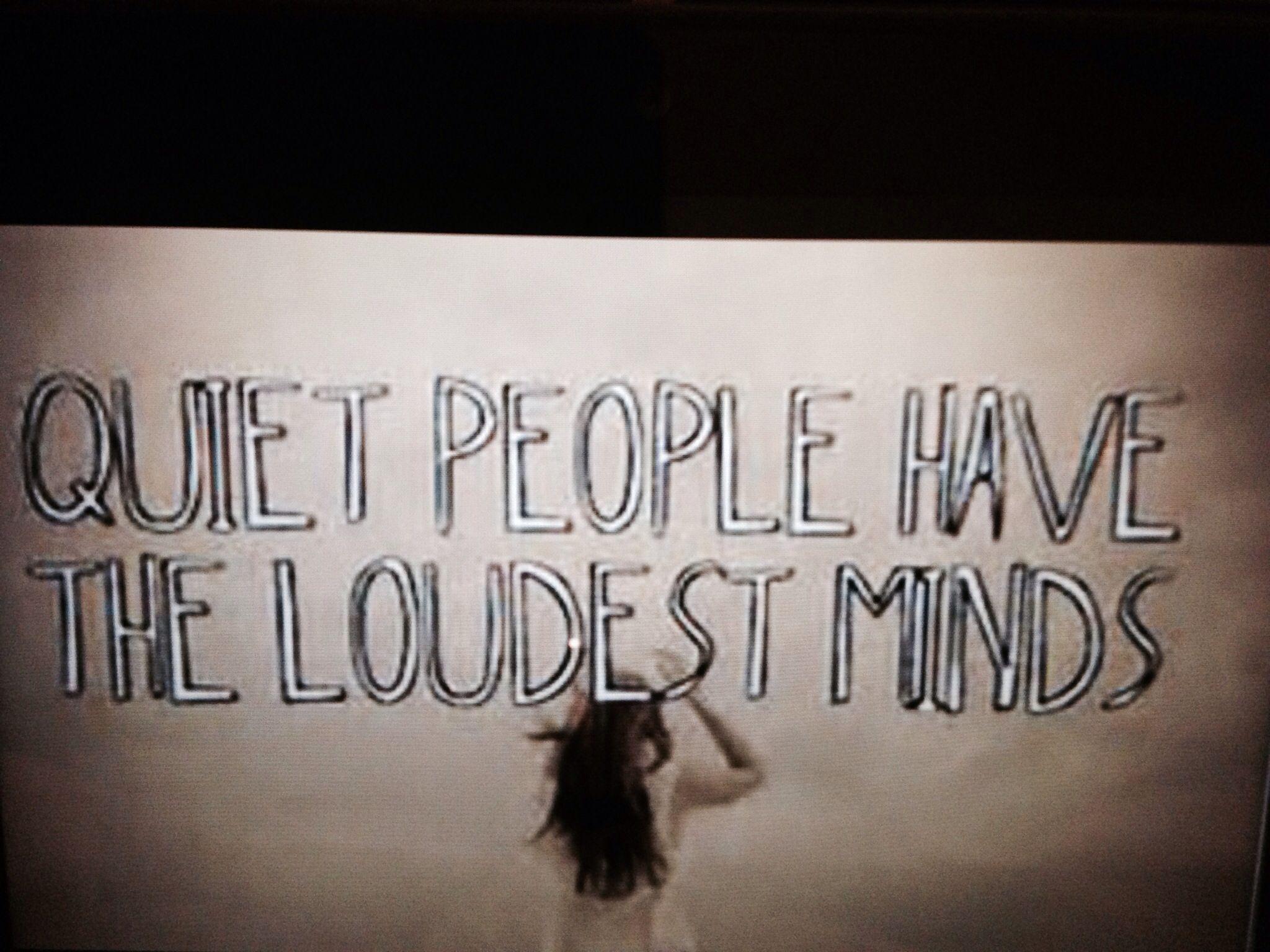 Quiet people problems