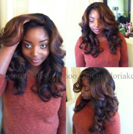Sew In weave | Hair | Pinterest