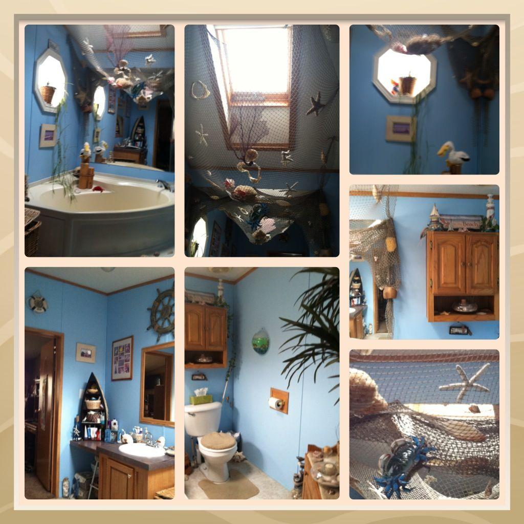 nautical beach bathroom decor anderson island pinterest